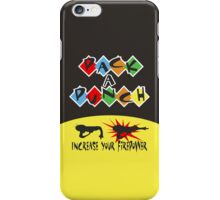 Pack A Punch iPhone Case/Skin