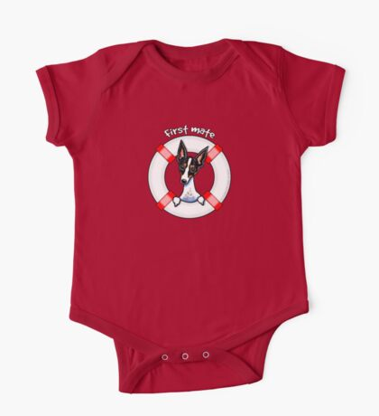Rat Terrier :: First Mate One Piece - Short Sleeve
