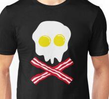 Bacon & Egg Skull Unisex T-Shirt