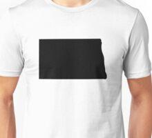 American State of North Dakota Unisex T-Shirt