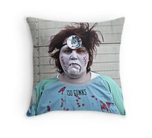 Never Fear, The Doctor Is Here.... Throw Pillow
