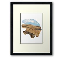 Phanpy used Sand Attack Framed Print