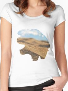 Phanpy used Sand Attack Women's Fitted Scoop T-Shirt