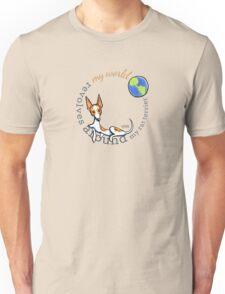My World My Rat Terrier Unisex T-Shirt