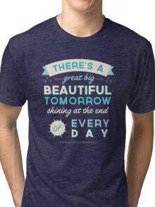 Beautiful Tomorrow Tri-blend T-Shirt