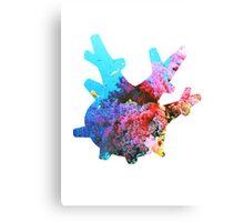 Corsola used Brine Canvas Print