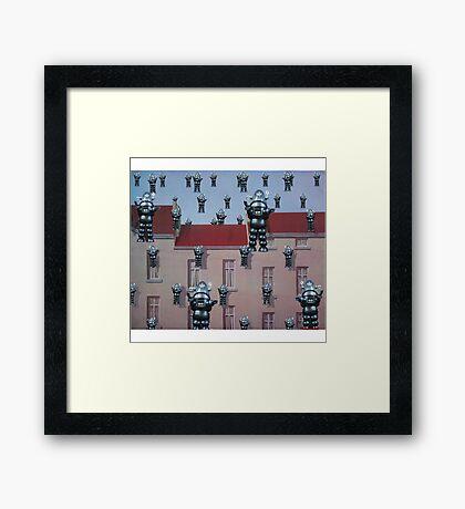 Robby Reigns Framed Print