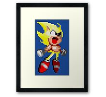 Super Sonic! Framed Print