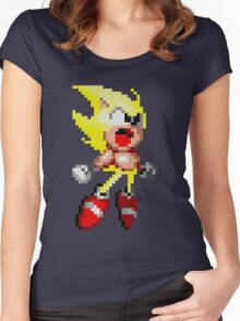 Super Sonic! Women's Fitted Scoop T-Shirt