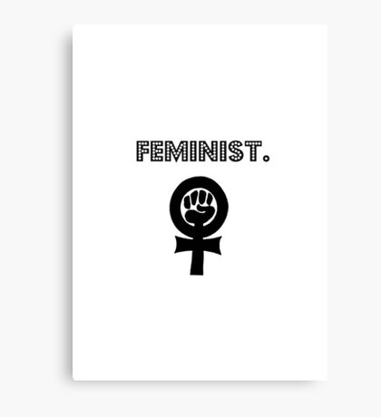 Feminist. Canvas Print