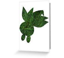 Oddish used Grasswhistle Greeting Card