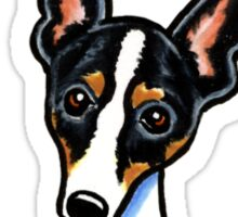 Rat Terrier :: Its All About Me Sticker