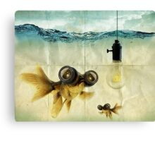 Lens eyed fish idea Canvas Print