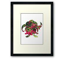 Gloom used Petal Dance Framed Print