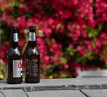 Two Beers and Surf by Thomas Barker-Detwiler