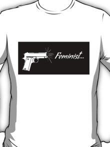 Feminist. T-Shirt