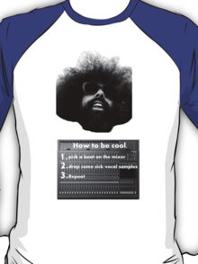 Reggie Watts - How To Be Cool T-Shirt