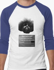 Reggie Watts - How To Be Cool Men's Baseball ¾ T-Shirt