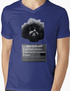 Reggie Watts - How To Be Cool Mens V-Neck T-Shirt
