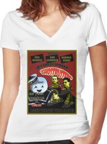 Ghostbuster! Women's Fitted V-Neck T-Shirt