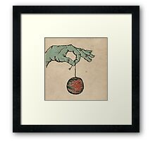 Hand Ball Framed Print