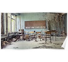 Chernobyl - школа Poster