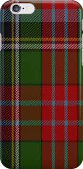 00918 Wilson's No. 90 Fashion Tartan Fabric Print Iphone Case by Detnecs2013