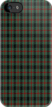 00919 Wilson's No. 94 Fashion Tartan Fabric Print Iphone Case by Detnecs2013