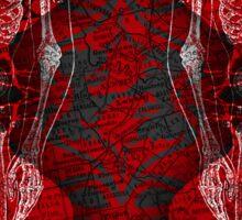 BEDLAM Cover Art Sticker