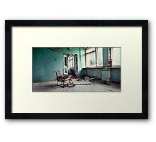 Chernobyl - лікарня III Framed Print