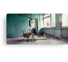 Chernobyl - лікарня III Metal Print