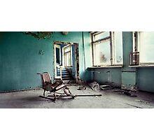 Chernobyl - лікарня III Photographic Print
