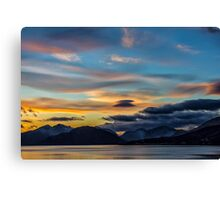 Sunset Loch Linnhe Canvas Print