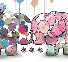 elephant confection by © Karin (Cassidy) Taylor