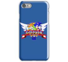 SONIC 2 TITLE SCREEN iPhone Case/Skin