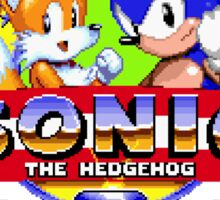 SONIC 2 TITLE SCREEN Sticker