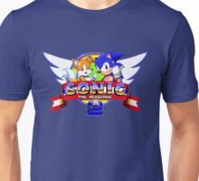SONIC 2 TITLE SCREEN Unisex T-Shirt