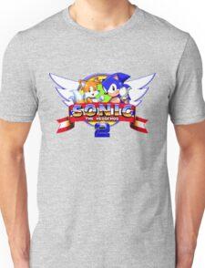 SONIC 2 TITLE SCREEN Unisex T-Shirt