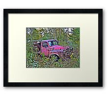 Rust and remember 5 Framed Print