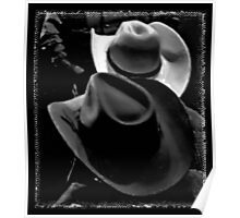 HATS ... Cowboy Style Poster
