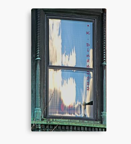Philly Window Canvas Print