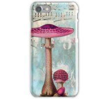 Pink Mushroom iPhone Case/Skin