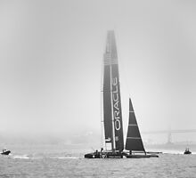 Oracle Team USA - Approaching by Kasia-D