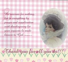 thank you card-Php. 4-6 by vigor
