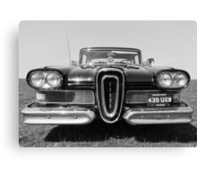 The Edsel, Classic American Motoring Canvas Print
