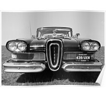 The Edsel, Classic American Motoring Poster