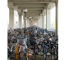 Bikes to the infinity  Photographic Print