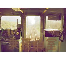 last train to paradise Photographic Print
