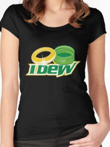 iDew Women's Fitted Scoop T-Shirt