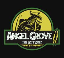 Angel Grove II: The Lost Zord Kids Tee